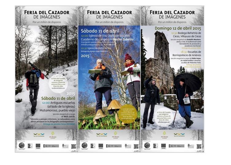 Feria del Cazador de Imágenes 2015   Sur de Cantabria