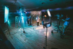 Producción audiovisual televisiva.